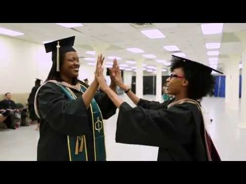 The College of Westchester graduating class of 2015
