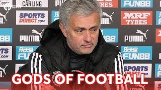 Jose Mourinho: Gods of Football with Newcastle 1-0 Manchester United PRESS CONFERENCE