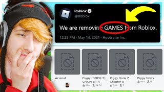 GOODBYE ROBLOX GAMES.. (Roblox Removed All Games) screenshot 1