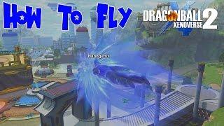 How to Fly in Conton City! Dragon Ball Xenoverse 2