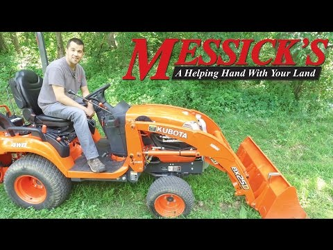 How to Remove a Kubota BX Series Loader