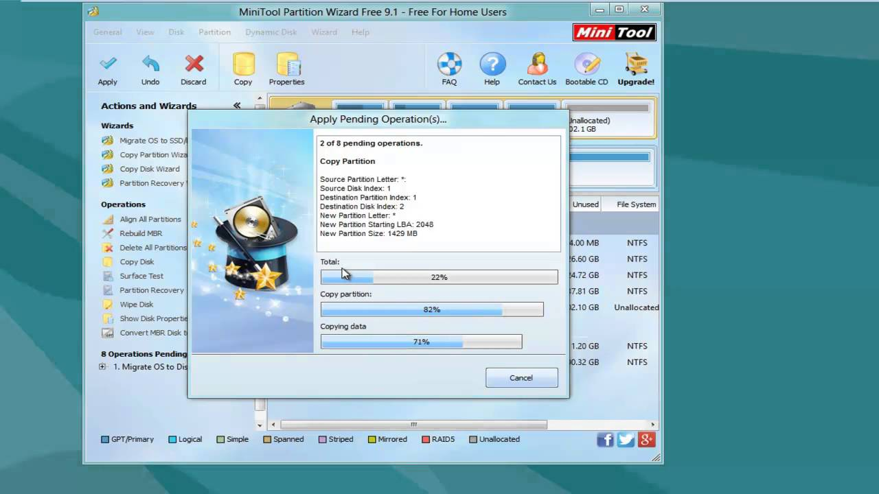 Full Guide to Migrate OS to SSD with MiniTool Partition Wizard