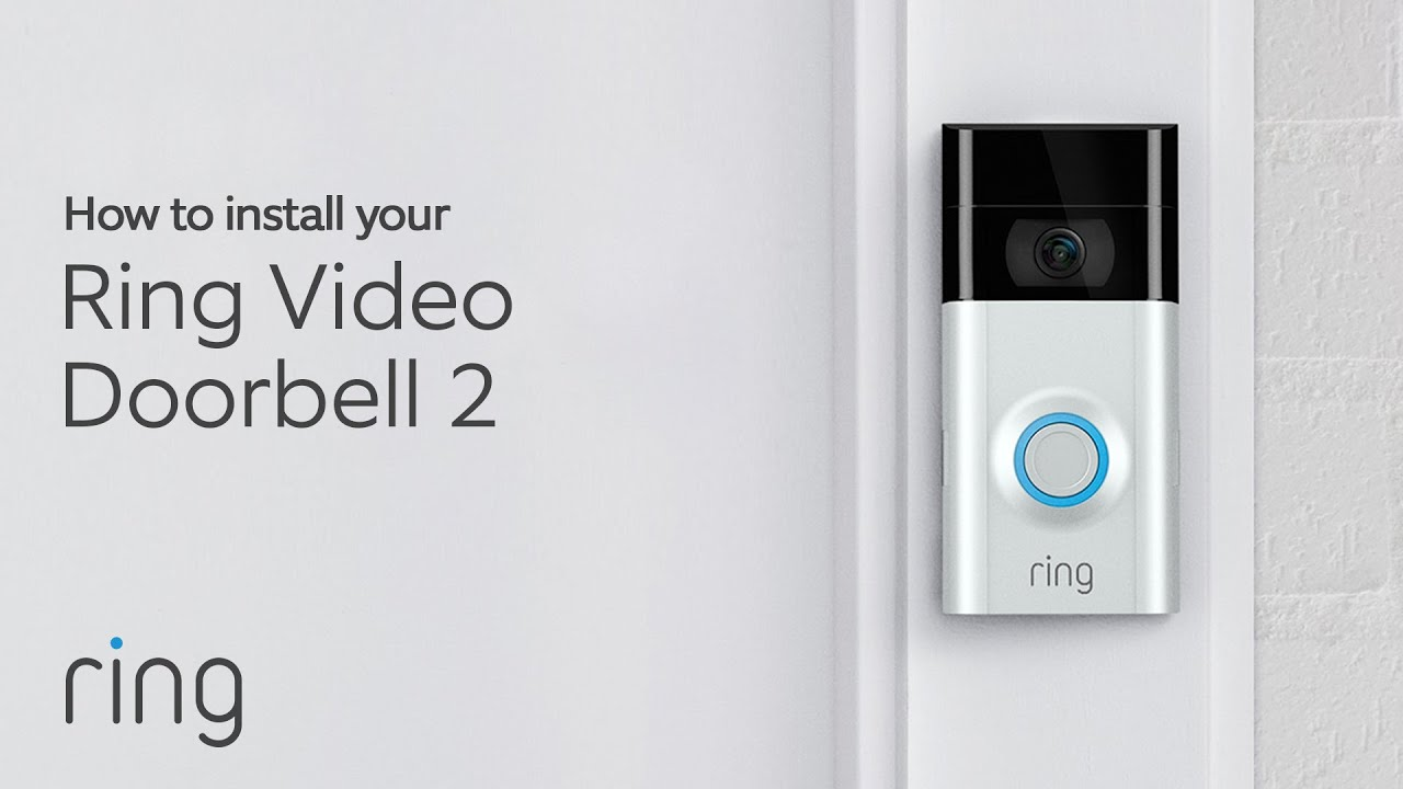 Ring Video Doorbell 2 Wired Install Youtube