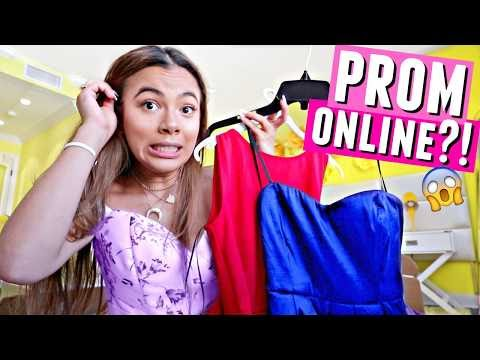 Ordering PROM Dresses Online?! ...Ou Gurl...👗