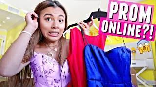 Ordering PROM Dresses Online?! ...Ou gurl...👗