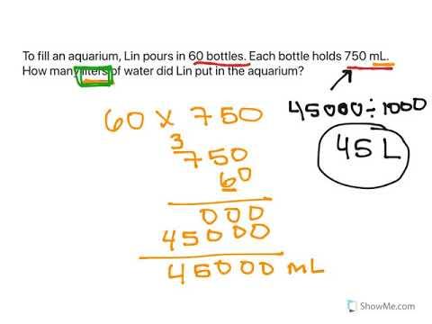 Convert Liquid Measurements 2 Youtube