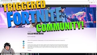 Fortnite Community est TRIGGERED - Patch V.2.3.0