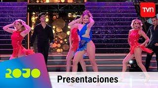 Camila Vásquez bailó