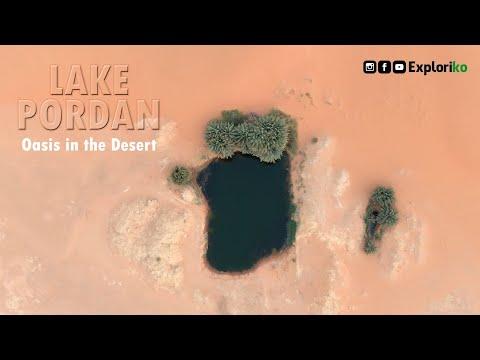 Lake Pordan | Oasis in the desert | Riyadh | Route Map