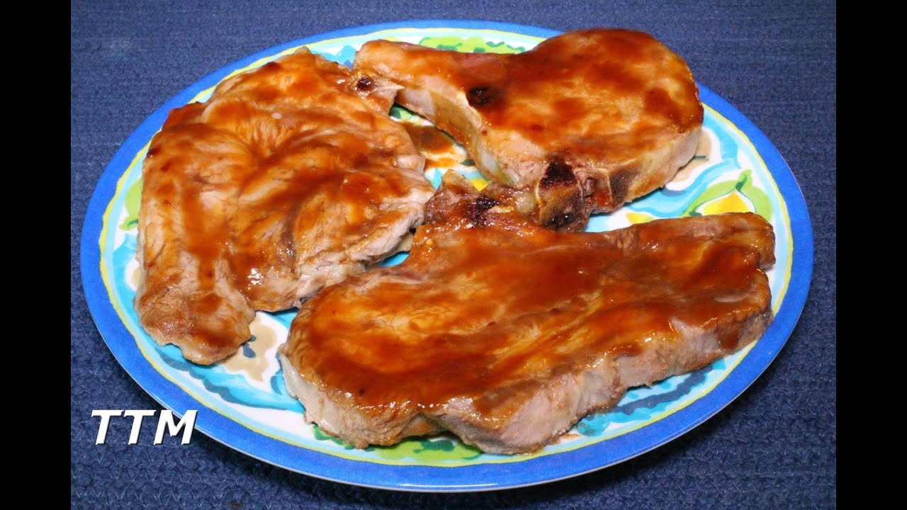 How To Make Easy 15 Minute Bbq Pork Chops In The Toaster Oven