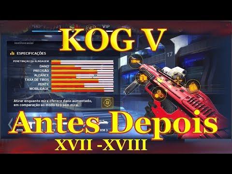 Mc5 | Assalto Arma KOG V Antes e Depois XVII e XVIII
