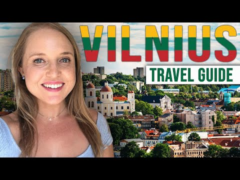 Vilnius Lithuania Travel Guide, Tips, and Free Tours!