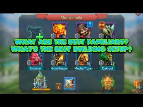(Updated) Best Familiars And Building Setu - Lords Mobile