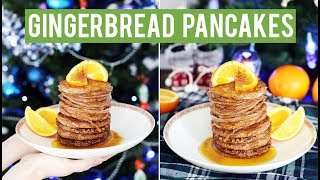 Easy Gingerbread Pancakes Recipe