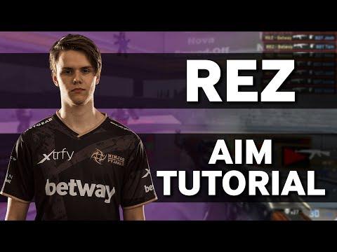 NiP REZ | How To Improve Your Aim In CSGO