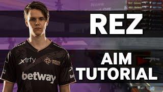 NiP REZ How To Improve Your Aim In CSGO