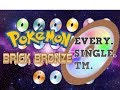 [No Longer Updated] Pokemon Brick Bronze | All of the TMs locations!