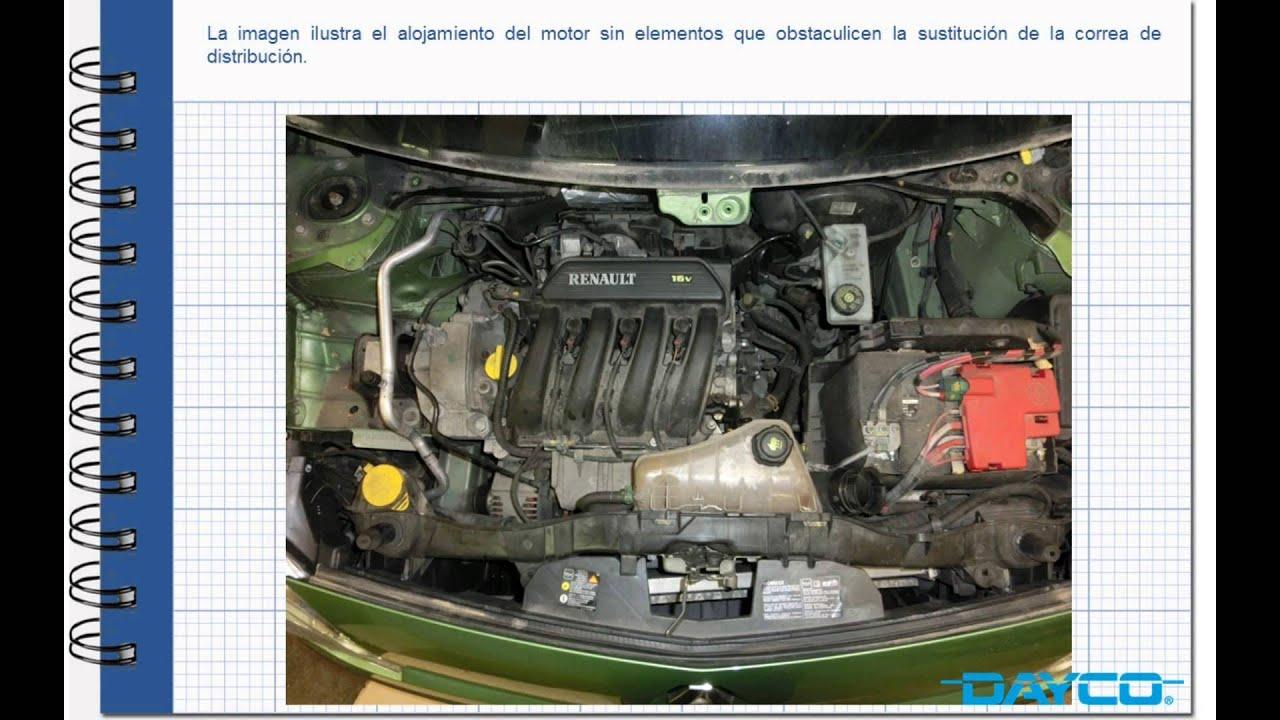 100 Base T Wiring Diagram Montaje Kit De Distribuci 243 N Renault Kangoo 1 6 16v Motor
