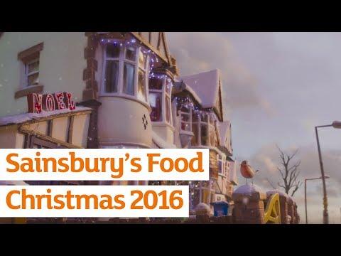 Sainsbury's Food Christmas Advert 2016