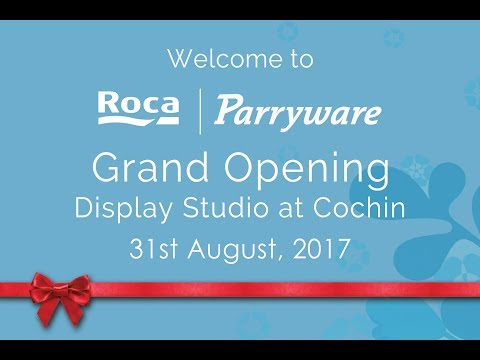 Parryware - Grand Opening Display Studio at Cochin