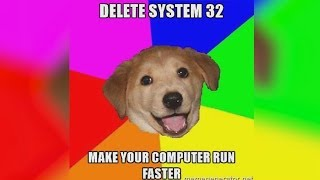 Download What Happens If You Delete System32? Mp3 and Videos