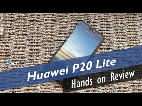 Huawei P20 Lite Hands on Review [Greek]