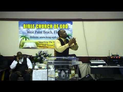 "Bishop Gerald Banks 1st Sunday Sermon ""Command To Grow"""