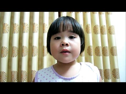 Bảo Châu kể chuyện Tích Chu khi 3 tuổi