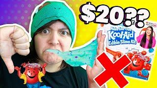 CASH or TRASH? Would You Eat KOOL-AID SLIME? Testing Karina Garcia&#39s Edible Slime Craft Kit
