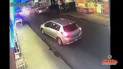 Drive by Shooting Caught on Camera @ junon street Couva Trinidad N Tobago, Crime 2019