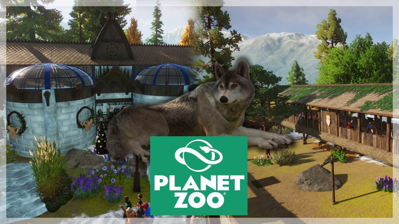 Download CUTE Timber Wolves! (Plus Giveaway Winners)   Planet Zoo Ep.10