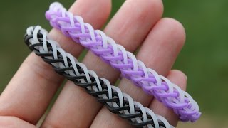 Rainbow Loom Nederlands, French Braid armband