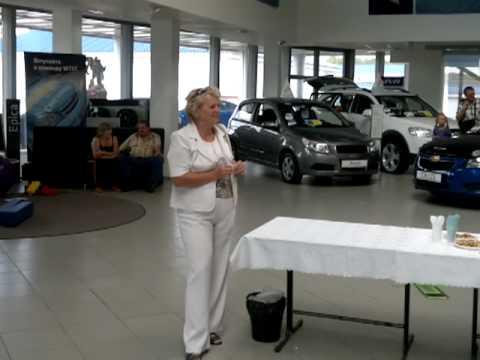 презентация нового Opel Meriva в Чехов-Авто (часть 2)