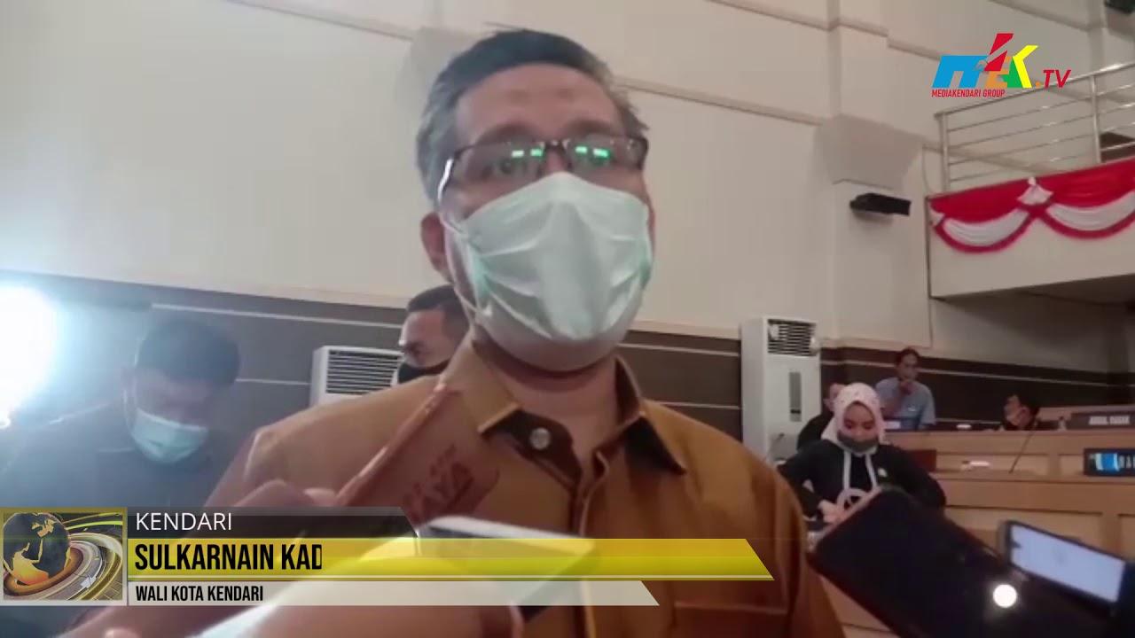 111 Pemerintah Kota Kendari Serahkan Raperda Kepada DPRD