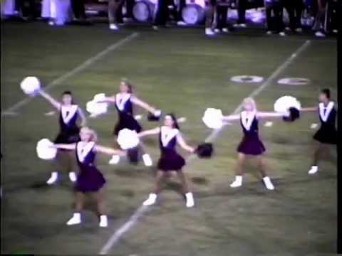 "Benton High School Pep Steppers ""Achy Breaky Heart"" 1992"