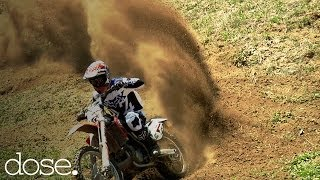 Pro MX Riders Doug Parsons & Kris Foster Freeride Motocross in SoCal Canyons
