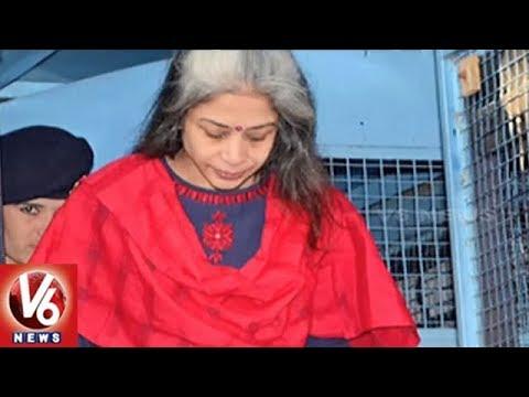 Karthi, Indrani Mukherjee Interrogated Simultaneously By CBI In INX Media Scam Case | V6 News