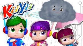 Rain Rain Go Away | Nursery Rhymes for kids | Original Version By KiiYii! | ABCs and 123s