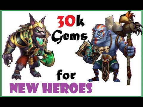 Rolling What We Need - Hire Heroes And WIN Castle Clash