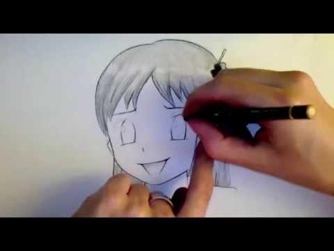 Comment dessiner des yeux manga 3 styles diff rents tutoriel youtube - Comment dessiner un but de foot ...