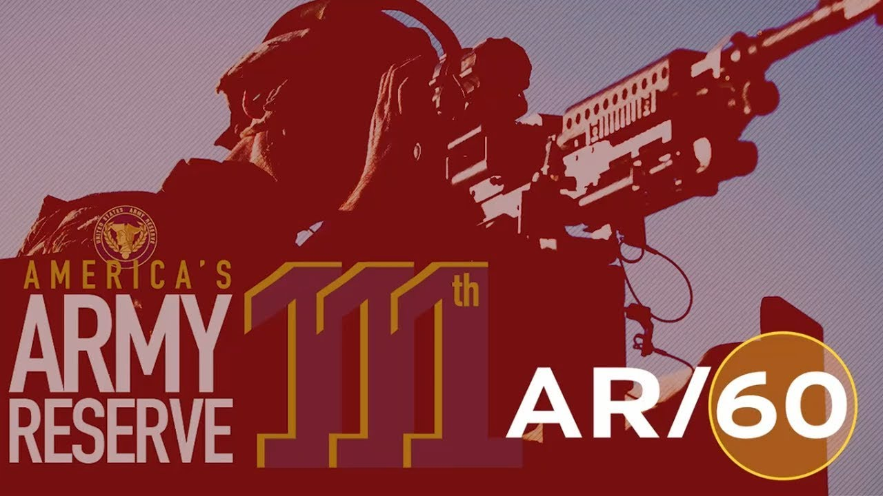 On today's AR/60: 1. The most capable, combat-ready, and lethal Federal Reserve Force in the history of the nation celebrates its 111th birthday; 2. Army Reserve Soldiers support training cadets at the Sandhurst Military Skills Competition at West Point, New York; 3. Army Reserve veterinarians teach up-to-date techniques to farmers in Djibouti. 