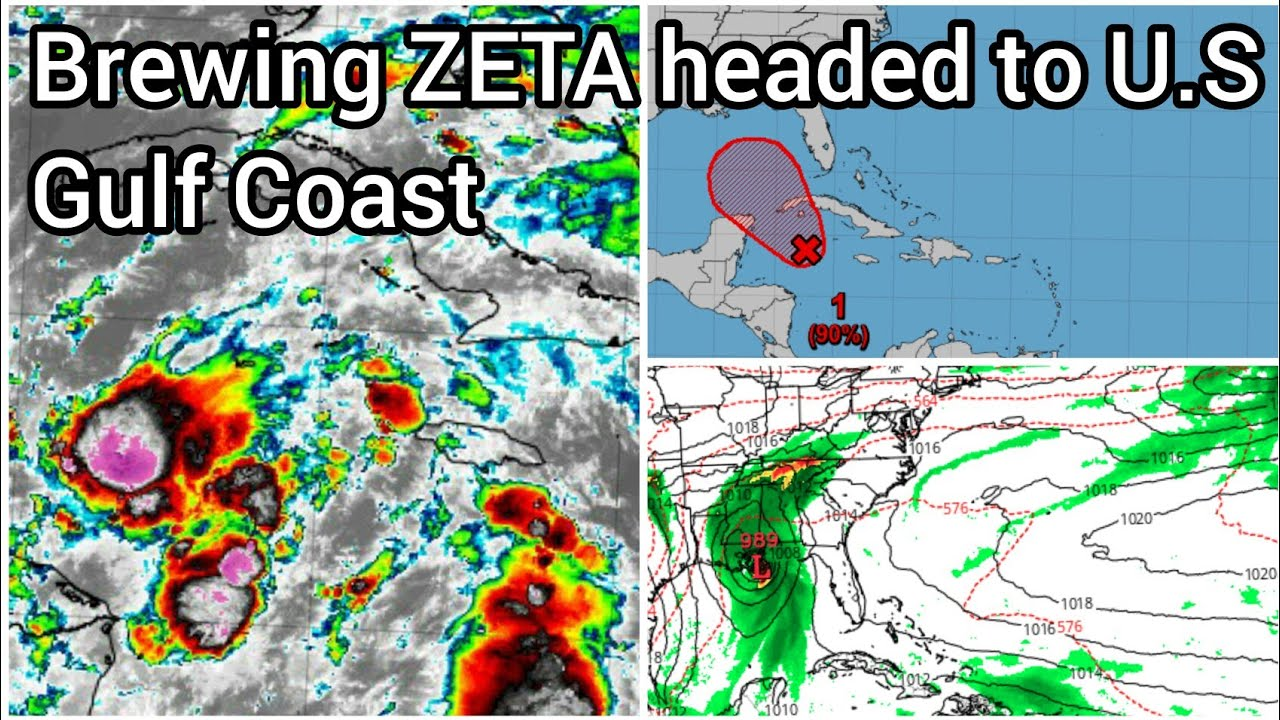 Tropical storm ZETA to make landfall along Gulf Coast || EPSILON updates