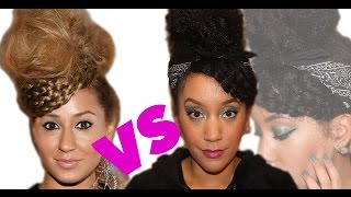 Natural Hairstyle  - Adrienne Bailon Inspired