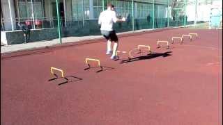 Тренировка с барьерами