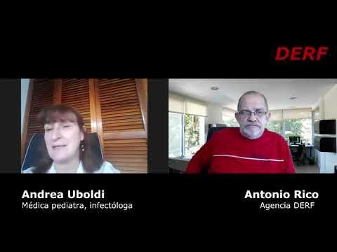 Andrea Uboldi: No hay evidencia certera de que sucedan recontagios