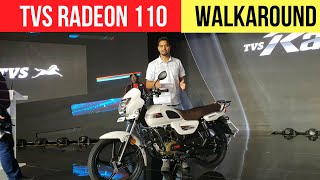 TVS Radeon 110 Launched In India - Detailed Walkaround