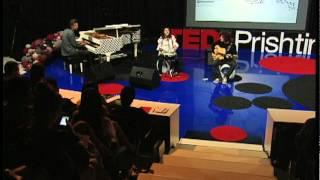 Performance: Agona Shporta and Friends at TEDxPrishtina