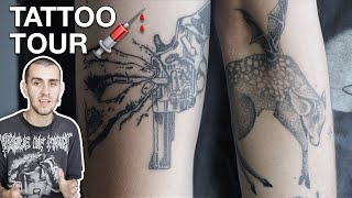 My Tattoo Tour 2019 + Tattoo Q&A | Owen Hyatt