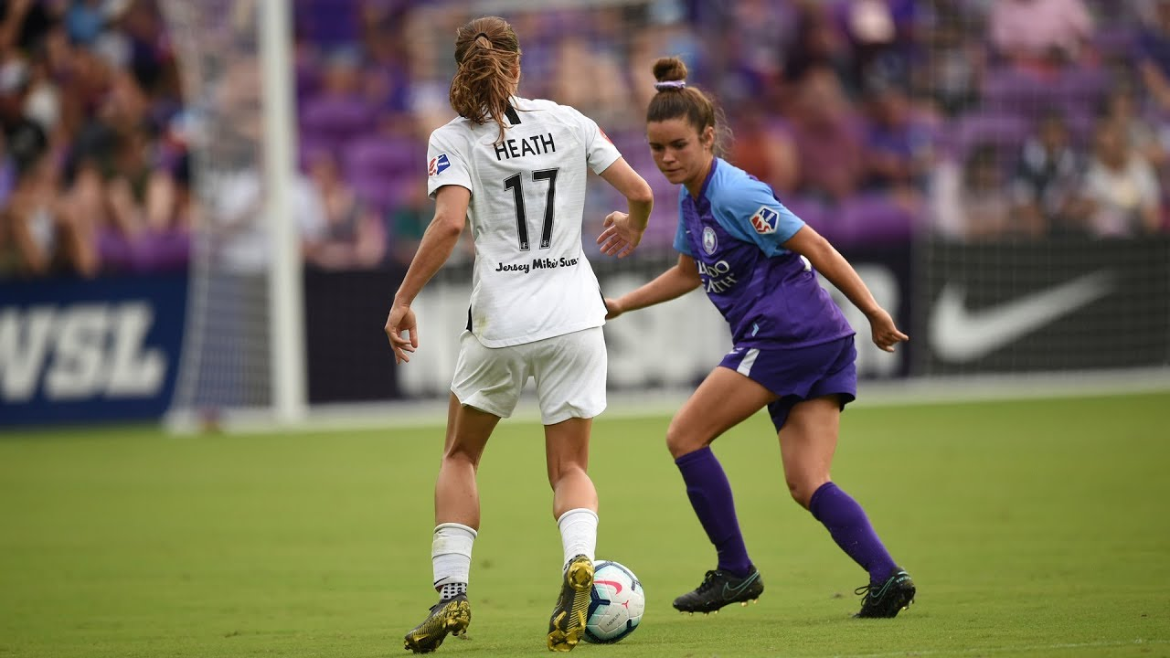check out fa750 383bd Thorns FC's Tobin Heath is a real life video game