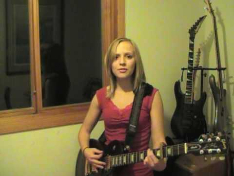 Mad World Adam Lambert Style (Cover) - MadilynBailey
